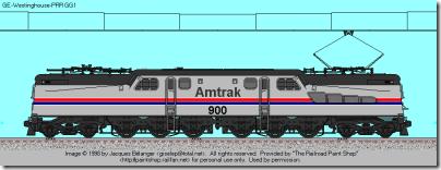 Amtrak PhII gg1
