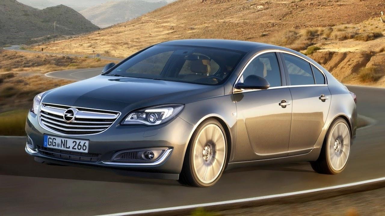 Makyajlı 2014 Opel Insignia Eylül'de Türkiye!