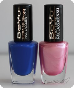 "BeYu ""blue splash"" + ""pink brightness"""