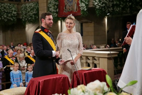20.10.2012 - Royal Wedding 2012 / Luxembourg / Crown Prince Guillaume / Countess Stephanie / Royals Luxembourg / Religious Wedding  - Photo: ©Grand-Ducal Court/Guy Wolff/All rights reserved