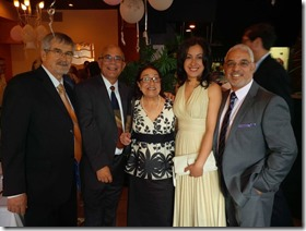 Oche, Celeste Gómez y esposo, Miguel vicioso y novia