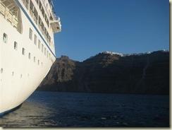 Santorini from Tender (Small)