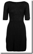 Benetton Black Knit Dress