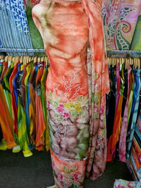 batik sutera lukis terengganu - exclusive