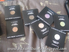 mac single eyeshadows, by bitsandtreats