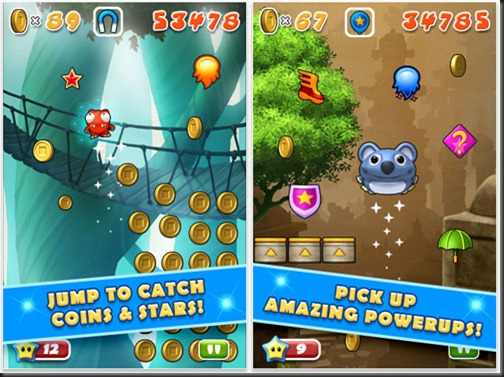 Mega Jump is a standard-bearer for mobile gaming