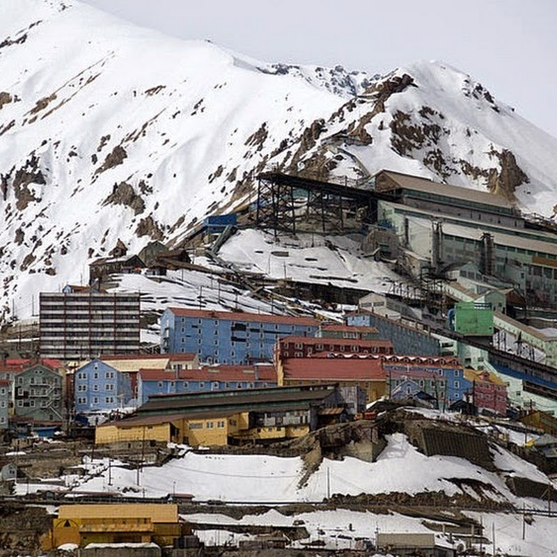 Sewell, An Abandoned Mining Town in The Andes