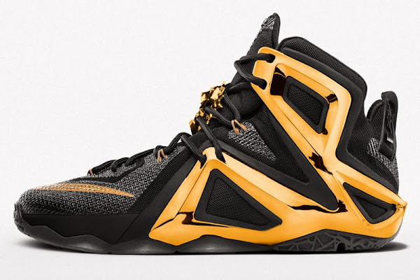 It Takes 320 to Customize the Nike LeBron 12 Elite