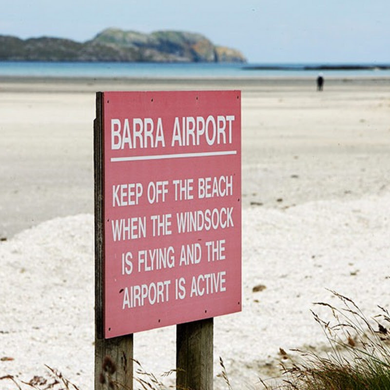Barra Airport–World's Only Beach Airport