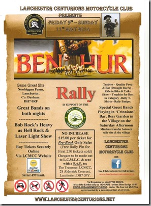 Ben Hur Rally