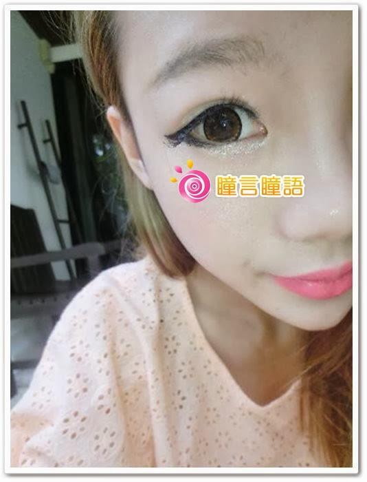 韓國NEO隱形眼鏡-NEO Dali Heart心語棕5