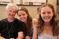 Grandma Durham (Beth), Laura and Amy