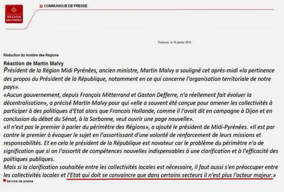 comunicat Martin Malvy Decentralizacion 2014