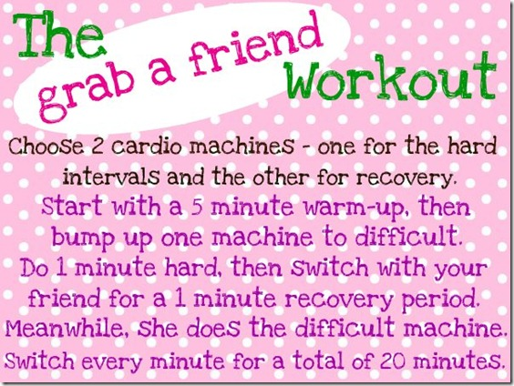 grab a friend workout