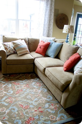arhaus sectional sofa