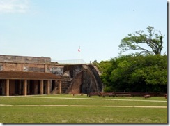 Parade grounds at Fort Pickens