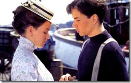 Felicity King and Gus Pike in Road to Avonlea