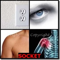 SOCKET- 4 Pics 1 Word Answers 3 Letters