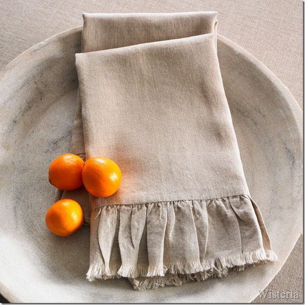 wisteria towels