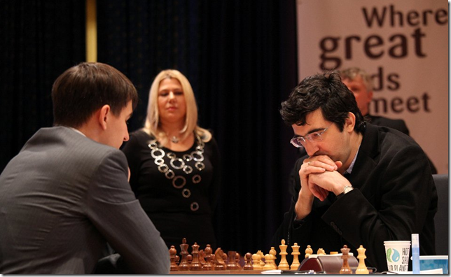 Kramnik vs Andreikin, Game 1 Final WC 2013 Tromso, Norway