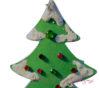 Tree Card - Platypus Creek Digital - Christmas in July - Ruthie Lopez. 2