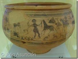 Vaso de la doma de caballo - Edeta - Llíria