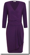 Kaliko Purple Wrap Dress (Reduced)