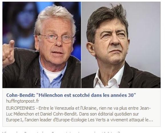 Mélenchon argumenta sempre faus coma Marchais un còp èra