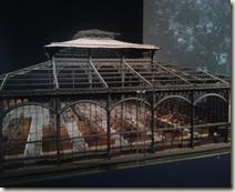 Maquette de pavillon des halles de Baltard