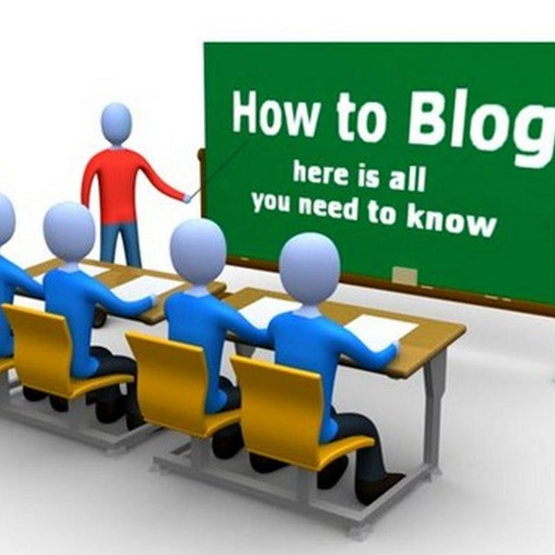 Segnalazione di illeciti in Blogger.