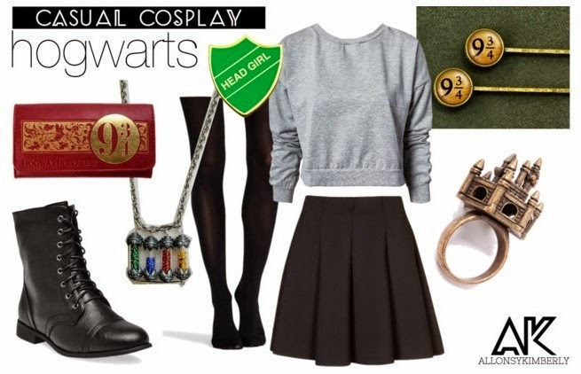 Casual Cosplay Hogwarts | allonsykimberly.com