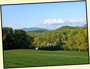 07m - Rivers Edge RV Park - Blue Ridge Mountains in Background