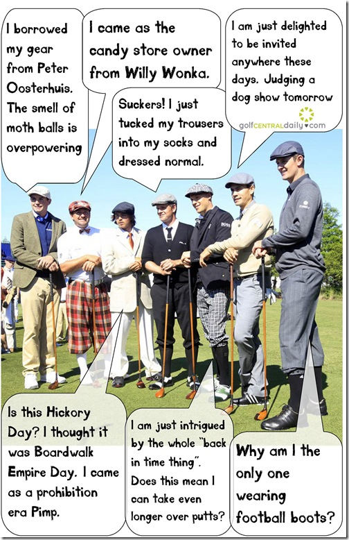 Hickory Golf Funny