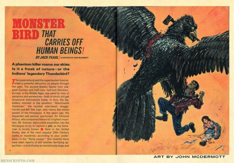 Some Cryptozoology Mavens Like Loren Coleman Have Theorized That The Mothman Monster Was A Thunderbird One Of Worlds Leading