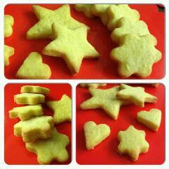 biscotti di frolla e biscotti di frolla e marmellata