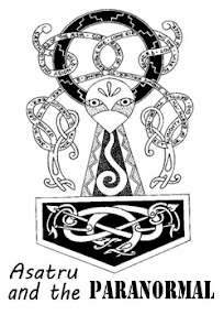 Cover of Anonymous's Book Asatru And The Paranormal