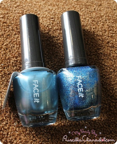 Faceshop Nail Polish Blue