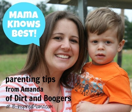 Mama Knows Best Amanda from Dirt and Boogers