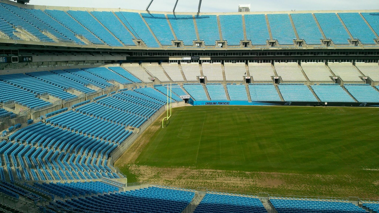 Bank Of America Stadium Home Of The Carolina Panthers