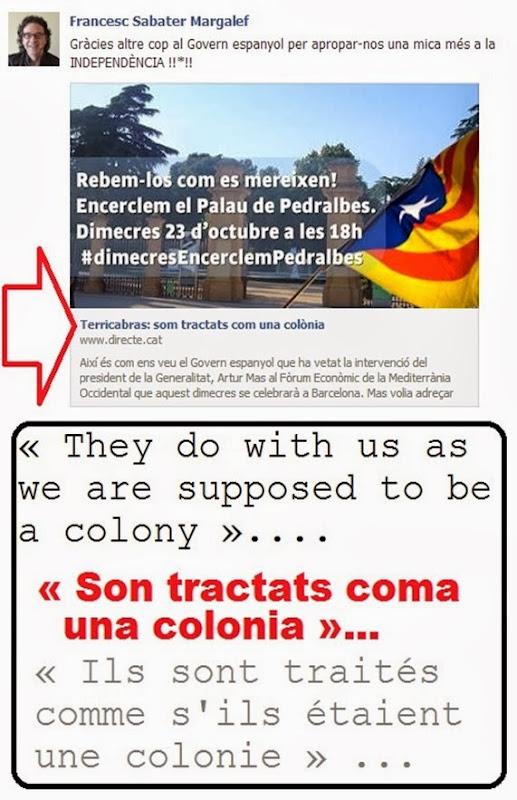 Colonia Catalonha octobre 2013