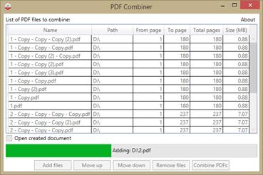 Free PDF Combiner