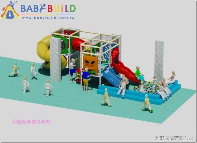 BabyBuild 室內兒童遊具規劃設計彩圖