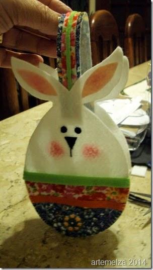 artemelza - bolsa coelho páscoa