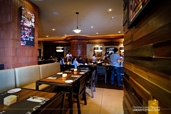 Chops Chicago Steakhouse Interior at Greenbelt 5