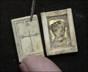 Minuscules reliques chrétiennes de 1400 ans découvert à Jérusalem