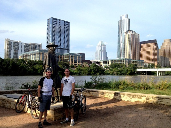 Mounting biking in Austin Texas