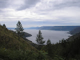 Lake Toba as seen from Sipiso-piso waterfall (Daniel Quinn, August 2011)