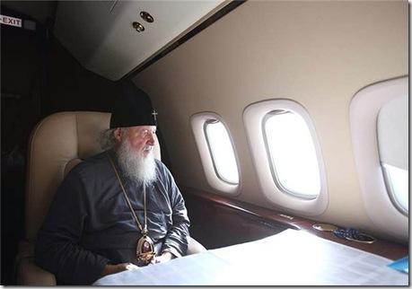Личный самолет патриарха
