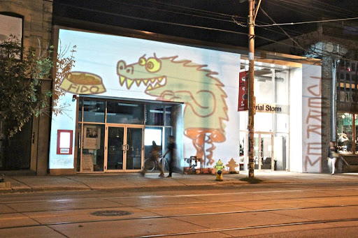 fido and half a dragon, west queen west