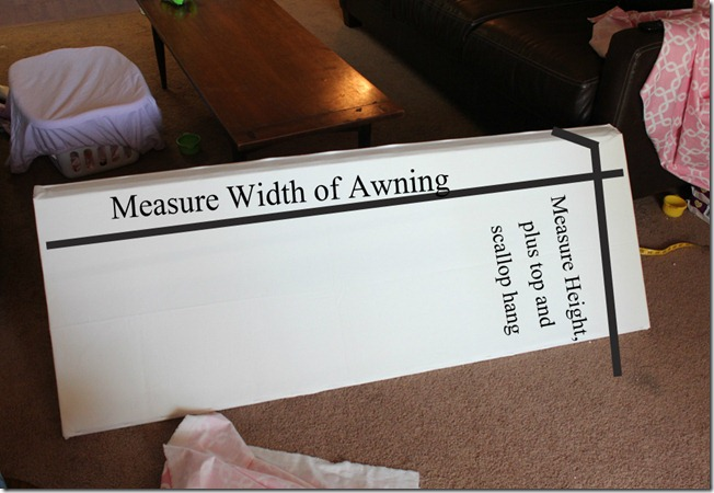 Measure Awning directions